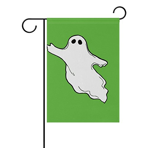photos-flying-ghost-clipart Deko Welcome Colorful Mulitcolor Bright Cute Garden Flagge, Gesponnenes Polyester, multi, 28x40(in) ()