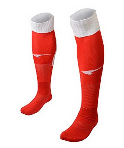 Jugend-rot-baseball-socken (Qualitäts-rote Knielänge Fußball-Socken Durable)