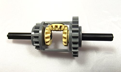 LEGO® Technic - Differential Zahnräder (Gear) 24-16 im neuen grau - Komplett-Set (Lego Technic-sets)