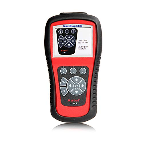 Autel MaxiDiag Elite MD802 All System Diagnosetool für Motor, Getriebe, ABS und Airbag Module unterstüzt Live-Daten, EPB, Ölservice-Reset - Elite Manual