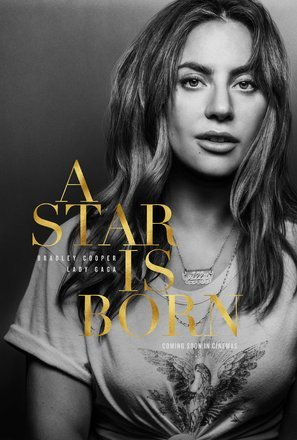 Import Posters A STAR IS BORN - Lady Gaga - U.S Movie Wall Print - 30CM X 43CM Brand New - Lady Movie Poster