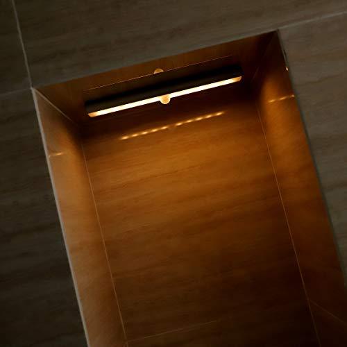 LoveVV Sensor de Movimiento lámpara Bar Interior, Tres Luces LED Armario, Luces...