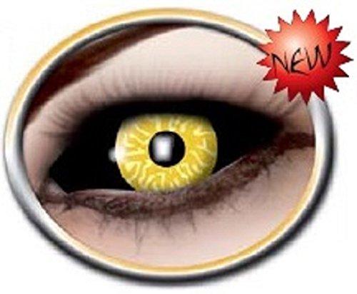 Black Yellow Kontaktlinsen