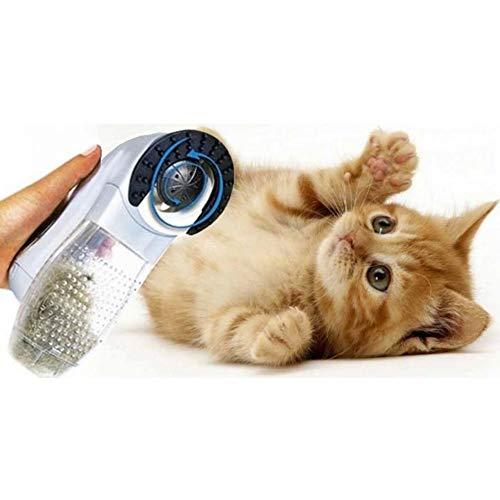 TradeShopTraesio- ASPIRAPELI ASPIRA PELI A BATTERIE per Animali Domestici Cani Gatti