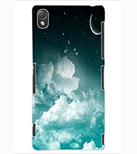ColourCraft Night Vision Design Back Case Cover for SONY XPERIA Z3