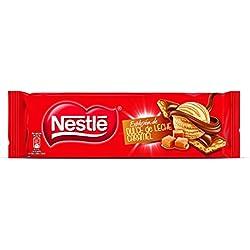 Nestlé Chocolate - Pack de 2 Relleno Dulce de Leche Crocanti (240 g) + Pack de 2 Dulce de Leche Caramelo (240 g)