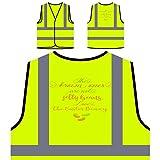Die Braunen Sind Keine Gummibärchen Lieben Personalisierte High Visibility Gelbe Sicherheitsjacke Weste s299v