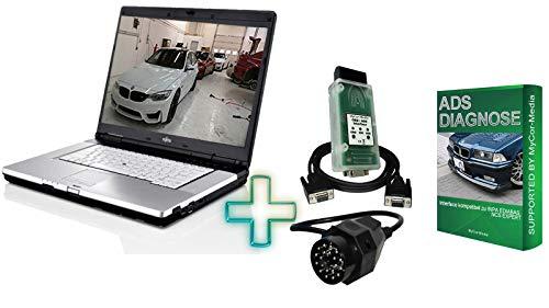 Preisvergleich Produktbild MyCor-Media Diagnose Laptop BMW Mini E30 E31 E34 E36 E38 E39 E46 E53 E60 E65 E90 (ADS Diagnose)