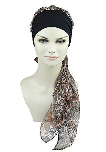 FocusCare FocusCare Damen Chemo Turban hüte mütze schal Kopfbedeckung für krebspatienten