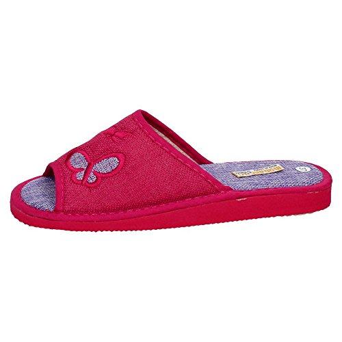 MORANCHEL, Pantofole donna Fucsia