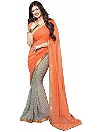 Sarees (Women's Clothing Saree For Women Latest Design Wear New Collection In Latest With Blouse Free Size Saree... - B0756FQBV2