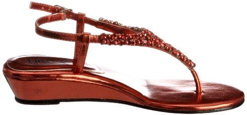 Unze Evening Sandals, Sandali infradito donna Rosso (Rot (L18373W))