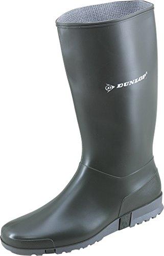 1614 Mulheres Dunlop - Botas De Borracha Esporte Verde Escuro