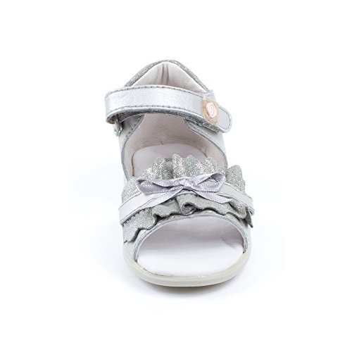 Sandales argent 142313B - Garvalin Argent
