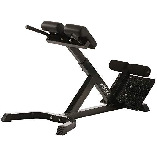 Hyperextension Rückentrainer Von MAXXUS - Rückenstrecker Für Gesundes Training (In Eishockey-ausrüstung Voller)