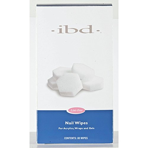 IBD Gel Nail Wipe-Sponge 80ct, 15 g -