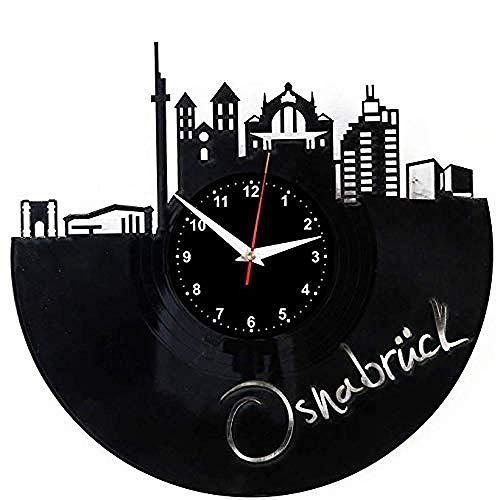 HCPGZ Osnabrück Wanduhr Schallplatte Vinyl Uhr Osnabrück