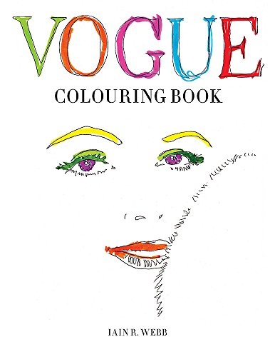 Vogue Colouring Book Cover Image