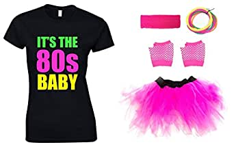 IT'S THE 80s BABY Ladies Outfit (T-Shirt) (10)