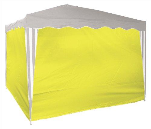 DEMA 4x Seitenverkleidung für 14214 3x3 m gelb