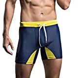JUTOO 2019 Traje de baño Hombre Respirable Trajes de baño Pantalones Bañadores Pantalones Cortos Bikini de Uso Delgado Cintura Baja