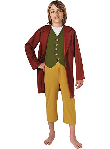 Beutlin Kind Hobbit Kostüm Bilbo - Rubie's Kinderkostüm Bilbo Beutlin The Hobbit
