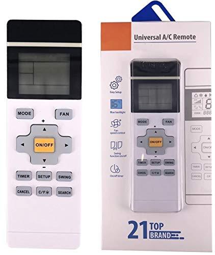 Universal Fernbedienung für Klimaanlage programmierbar für SANYO | SASUKI | SAST | SHANGLING | SHANXING