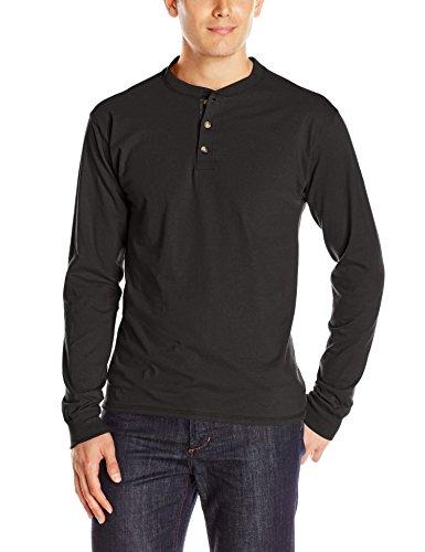 hanes-camiseta-de-manga-larga-henley-de-manga-de-camisa