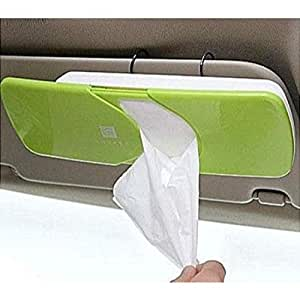 Shoposmart Car Sun Visor Tissue Paper Holder Dispenser Box