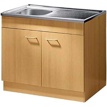 IKEA Unterschrank mit Türen weiß Küchenschrank Spülschrank ...