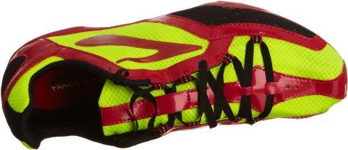 Brooks - Elmn8 M, Sneaker Uomo Multicolore (Multicolore (Yellow/Red/Black))