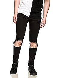 Cheap Monday Tight Destroy - Jeans Homme