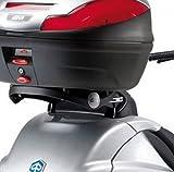Givi Support Valise Top Case Monokey Piaggio MP3 125-250-400-500 /LT, Noir