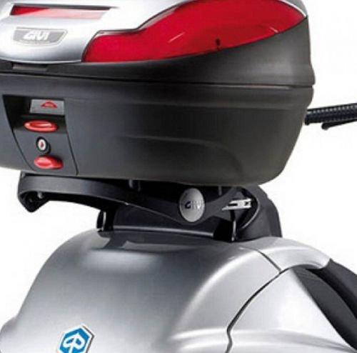 Givi SR134 Topcase-Träger klappbar Monokey Koffer mit M5 Platte/Max. Zuladung 6 kg Piaggio MP3 125-250-400-500 /LT Bj. 08 (Piaggio Mp3 250)