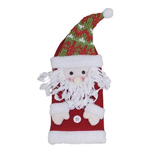 Weihnachten Thema Puppe Weinflasche Abdeckungen Kleidung Weihnachtsgeschenke Wohnkultur Party Dekoration Lieferungen Restaurant Dinner Party ()