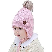 sentirsi a proprio agio design raffinato stili di grande varietà Amazon.it: Cappellino invernale bimba