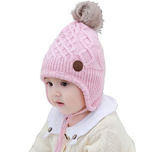 AHAHA Sombrero Orejera Bebé Invierno Sombreros Punto