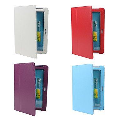 Schöne Fälle, Abdeckungen, Schutzhülle mit Ständer für Samsung Galaxy Tab2 10,1 P5100 ( Farbe : Violett )