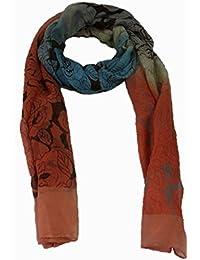 Damen Schal florales Muster