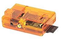 PI Case Box, Enclosure for Raspberry Pi Computer (Orange)