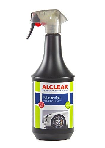 ALCLEAR Limpiador de llantas de coche Premium para llantas lacadas de aluminio o acero , pH-neutro, 1.000 ml