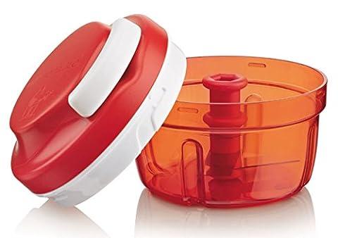 Tupperware Hachoir Turbo Chef, Plastique, rouge, ca. 300ml