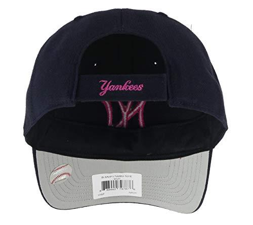 Imagen de  unisex de los new york yankees, marca '47 azul navy/pink talla única alternativa