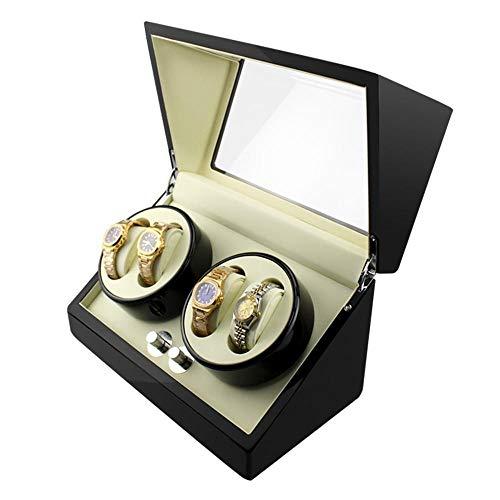 stchen Automatische Wicklung Liste Uhrenbox elektrische schütteln Tabelle Farbe Wippe Holz Rocker ()