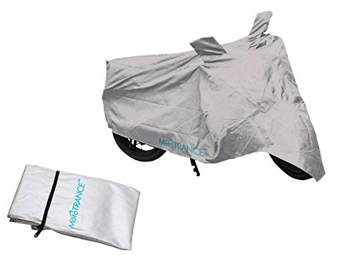 Mototrance Silver Bike Body Cover For TVS Scooty Pep Plus  available at amazon for Rs.275