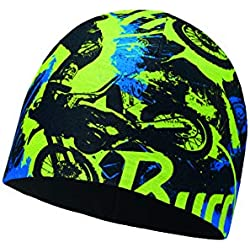 Buff Air Cross Microfibra Junior Gorro Polar, Unisex Adulto, Talla Única