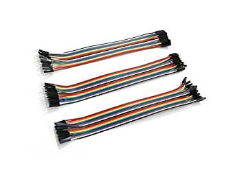 ApTechDeals Jumper Wires Male to Male, Male to Female, Female to Female/breadboard jumper wires (20+20+20)