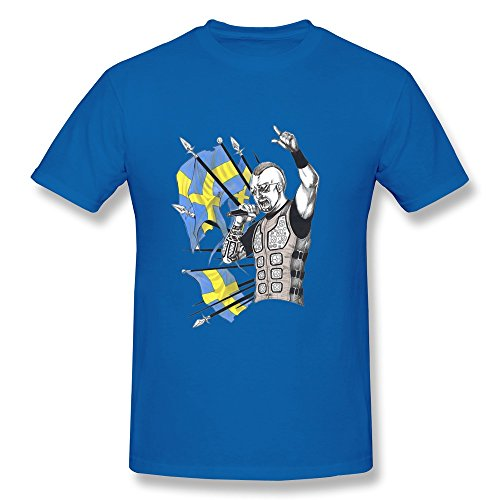 Uomo's Commission Sabaton T-Shirt- RoyalBlue