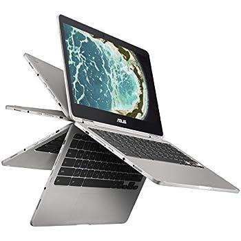 Asus Chromebook Flip C302 con núcleo m3, 12,5 pulgadas con pantalla táctil, almacenamiento de 64GB y 4GB de RAM