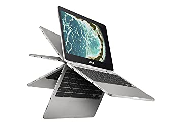 Chromebook Flip C302, Intel Core m3, 12.5-inç Dokunmatik Ekran, 64GB Depolama ve 4GB RAM